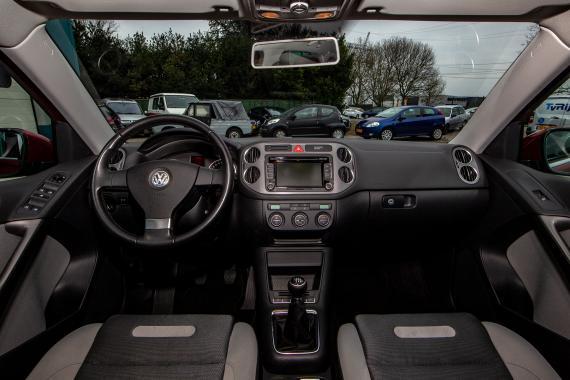 Volkswagen Tiguan 1.4 TSI 4-Motion-panoramadak-l.m velgen