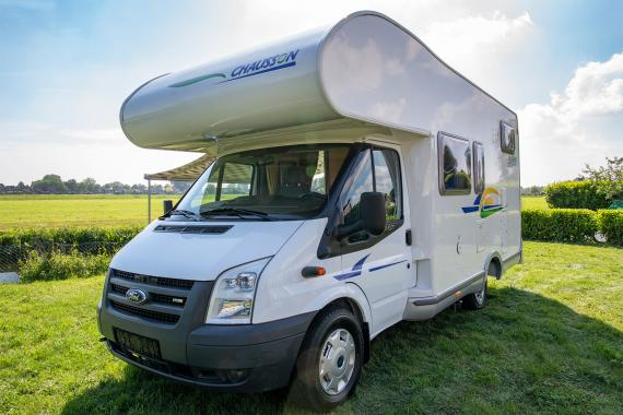 Ford Chausson Flash 01- Zeer nette camper