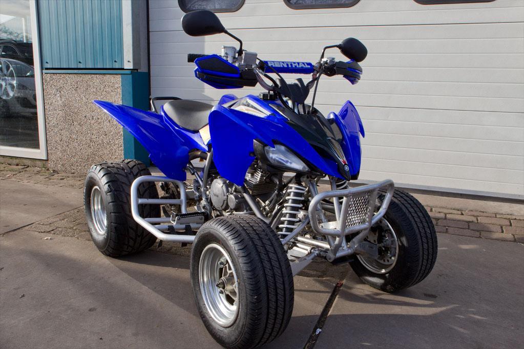 Yamaha raptor 250cc 4 takt occasions autobedrijf t for 250cc yamaha raptor