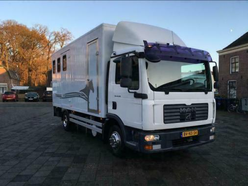 Volkswagen Man TGL 12.210 4X2 BL Automaat 4 Paards-Airco-Cruise-Hydraul